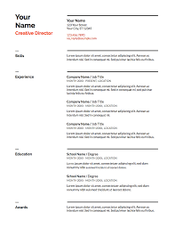 Google Doc Resume Template Modern Our 5 Favorite Google Docs Resume Templates And How To Make