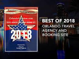 2018 business award orlando vacation