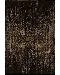 rugs spring black and gold area rug on grey gray cream