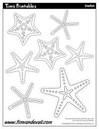 starfish template sea star templates for preschool art starfish shapes starfish templates