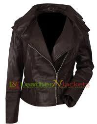 jackets women s leather biker dark brown victoria beckham jacket victoria beckham jacket