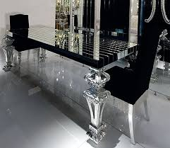 12 black glass dining room sets insanely gorgeous dining room black glass this would look amazing