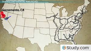 Transcontinental Railroad, Homestead Act and Women's Suffrage ...