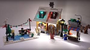 Lego Winter Village Lights Review Led Light For Lego 10216 Winter Village Bakery