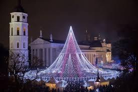 most beautiful christmas tree. Unique Christmas Vilnius  Best Christmas Tree In Europe Copyright Ksenija Toyechkina  European Destinations Inside Most Beautiful F