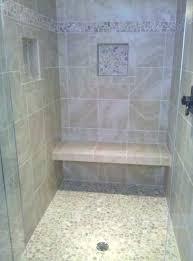 shower stall ideas best stalls on seat handicap with regard in tile