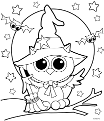 Cute Halloween Coloring Pages For Kids Halloween Coloring Magdalene Project Org