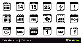 Calendar Icons 200 Free Icons Svg Eps Psd Png Files