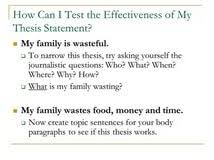 example of a good thesis statement for an essay thesis statement