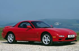 mazda rx7 2014. a red mazda rx7 from the 1991 model year rx7 2014