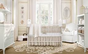 image of white baby room chandelier