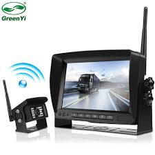 2018 Update Digital Wireless Backup Camera and Monitor Kit For Truck ...