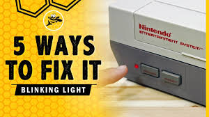 Nes Blinking Light Win Ebay How To Fix The Original Nes Red Blinking Light