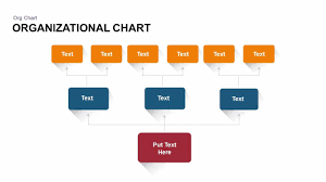 Organizational Chart Powerpoint Template Keynote Slide