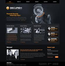 Flash Website Templates Security Flash CMS Template 24 4