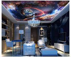 Custom photo wallpaper 3d ceiling ...
