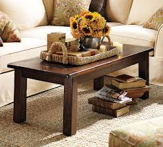 Pottery Barn Hyde Coffee Table Running With Scissors Coffee Table