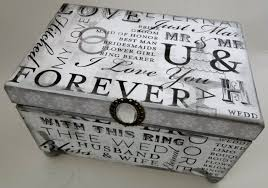 Memory Box Decorating Ideas unique wedding guest books art Where do you sell your crafts 22