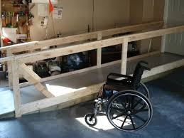 portable wheelchair ramp for home. wheelchair ramp in garage portable for home