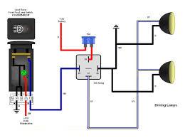Headlights To Fog Light Relay Wiring Diagram LED Rocker Switch Wiring Diagram
