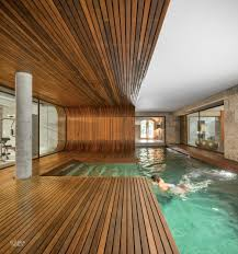 pool house interior design. Brilliant Pool Square Feet Under A Renovated 18thcentury Farmhouse In Guimares  Portugal To Construct The Separate Pool House Clad Iroko Wood And Mosaic Tile To Pool House Interior Design