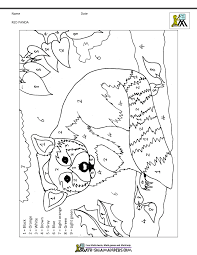 To print out your numbers coloring page, just click on the image you want. Color By Numbers Pages