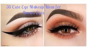 35 cute eye makeup ideas for brown eyes