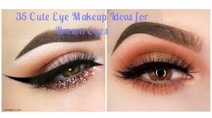 35 cute eye makeup ideas for brown eyes