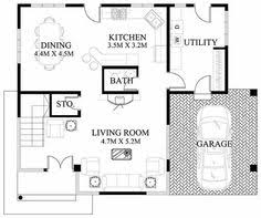 Small Picture Small House Design 2013004 Pinoy ePlans Modern house designs