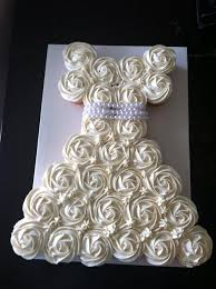 My Dirty Aprons Wedding Dress Cupcake Cake
