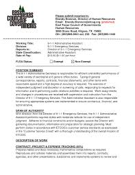 Administrative Resumes Samples Or Executive Assistant With Company