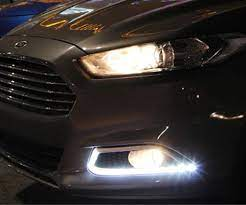 Install Ford Fusion Led Daytime Running Lights Ford Fusion 2013 Ford Fusion Ford Fusion Custom
