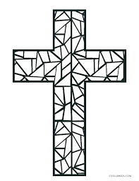 Free Coloring Pages Of Crosses Coloring Pages Of On The Cross