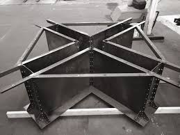 steel furniture designs. mega i beam table in the works by vintage industrial furniture furnituremodern industrialmetal designi steel designs