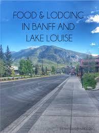 Banff Canada Lodging Food Teacherstraveltoo The