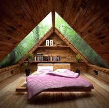fabulous small attic bedroom design