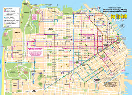 san francisco tourist map