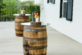 used wine barrel furniture. Wine Barrel Rustic Tables With Glass Top Used Furniture L