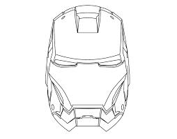 Coloriages Masques Avengers Imprimer Gratuit