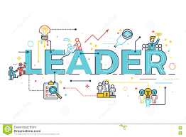 leader word in business leadership concept stock vector image leader word in business leadership concept