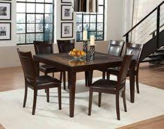 homelegance vincent square dining set mango and acacia wood find this pin and more on beautiful dining rooms