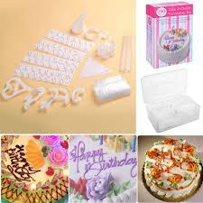 Message Cookie Designs Safstar 100pcs Birthday Wedding Cake Decorating Supplies Cupcake Cookie Craft Design Kit For Kids Or Begainers