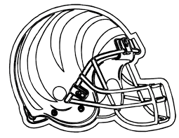 Small Picture Football Helmet Cinncinnati Bengals Coloring Page Football Theme