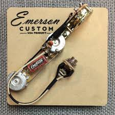 3 way esquire prewired kit emerson custom Emerson Pre Wired 5 Way Strat Switch Wiring Diagram 3 way esquire prewired kit