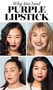 Light Purple Lipstick Drugstore The Best Drugstore Purple Lipstick Pictures Swatches On