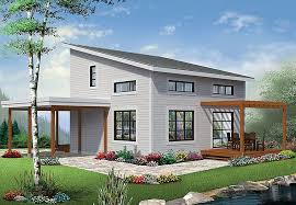 contemporary modern house plan 76405 with 2 beds 2 baths elevation