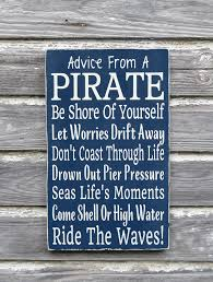 Pirate Bedroom Decorating Nautical Nursery Decor Advice From A Pirate Beach Sign Kids Pirate