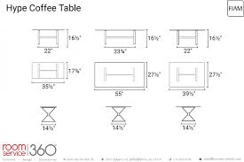 hype coffee table by fiam italia room