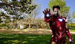 Robert Downey Jrs House  Inside  Outside  Iron Man - Iron man house interior