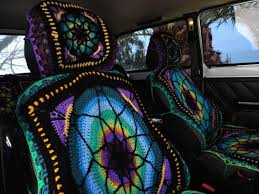 tie dye car seat covers front and back